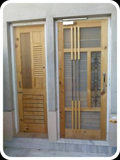 NET DOOR DESIGN: The net door is usually used to stop mosquito or fly, But now the time is changed and the people have to do it for the decoration house Wooden Main Door Design, Double Door Design, Wood Design, Modern Design, Wooden Door Hangers, Wooden Doors, Net Door, Diwali Decorations At Home, Design Net