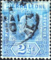 Sierra Leone 1907 King Edward VII SG 103 Fine Used Scott 94 Other African Stamps HERE