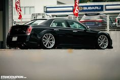 As promised, here is another Aimgain creation. Who would have thought a big modern American sedan would look so damn good laid out on the ground? Well, the gent Chrysler 300 Srt8, Chrysler 300s, Chrysler 300 Custom, Dodge Chrysler, My Dream Car, Dream Cars, Mopar Jeep, Honda Accord Sport, Cars Usa