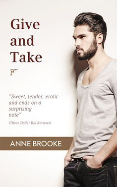 Book cover for gay romance, Give and Take