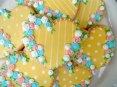 .Oh Sugar Events: Vintage Valentine Cookies
