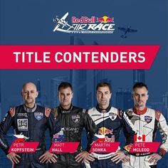 The title contenders of 2018 | Red Bull Air Race