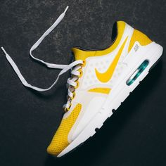 Nike Air Max Zero QS (Yellow/White) $150