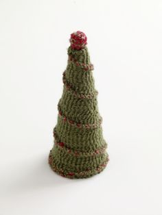 cute Christmas tree to crochet, free pattern.........