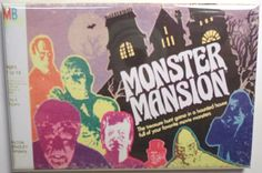 Try your luck with some of these horror and Halloween themed board games. Board game art by Halloween Board Game, Halloween Games, Spooky Games, Halloween Night, Monster Games, Monster Toys, Mini Monster, Monster Art, Retro Toys