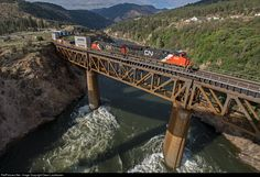 RailPictures.Net Photo: CN 3028 Canadian National Railway GE ET44AC at Lytton, British Columbia, Canada by Owen Laukkanen