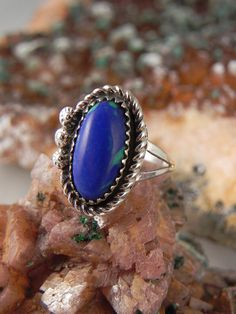 Hey, I found this really awesome Etsy listing at https://www.etsy.com/listing/217994473/native-american-azurite-ring