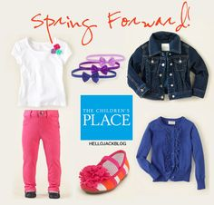 Hello Jack: The Children's Place & Hello Jack Blog new partnership + spring favorites