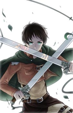 It's easy to forget how young Eren is based on the rather adult pins we see *cough guilty as charged cough* i need to catch up with the manga since i bought both Colossal anthologies. They're worth it because the art is perfect, and holding the massive tomb in your paws is a bit breathtaking!