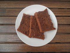 Bizcocho de Chocolate con Almendras sin Harina ideal para celiacos.