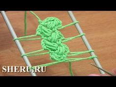 Лента вязаная на вилке Урок 10 Вязание крючком на вилке