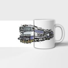 Hrnek lokomotiva 76 Mugs, Tableware, Dinnerware, Tumblers, Tablewares, Mug, Dishes, Place Settings, Cups