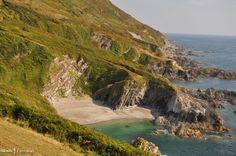 Lansallos Beach, near Polperro, Cornwall