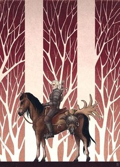 """""""The Witcher"""" (polish game - """"Wiedźmin"""") The Witcher Game, Geralt Of Rivia, The Dark World, Wild Hunt, White Wolf, Monster Hunter, Cool Art, Awesome Art, The Witcher"""