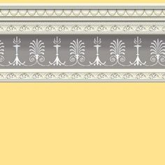 Soft Yellow Wallpaper 430 x 600mm - Tom Relaxes - Dolls' House Kitchens - Room Displays - Dolls House Emporium