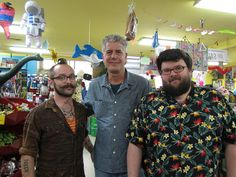 Anthony Bourdain Visits the Archie McPhee Store for The Layover