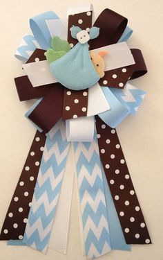 Hey, I found this really awesome Etsy listing at https://www.etsy.com/listing/177114414/baby-shower-corsage-baby-boy-corsage