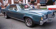 1972 PONTIAC GRAND PRIX SJ, YCcode 455 4bbl V8/TH400 auto