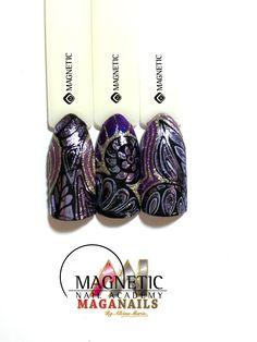 Foil, Pintura Acrílica, Master Paint, Magnetic Nails, Albina Maria, Maga Nails