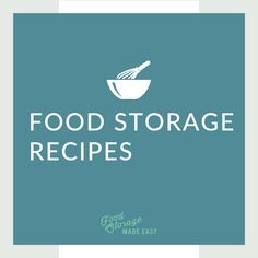 An abundance of recipes using food storage ingredients.  Search and add your favorites to your food storage arsenal.  Don't forget to print them out!  #foodstorage #recipes