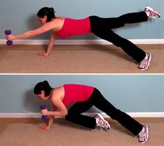 20 (no crunches) awesome core/ab workout!