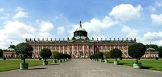 """The design of the New Palace was intended to demonstrate that Prussia's capabilities were undiminished despite its near defeat in the Seven Years' War. Frederick made no secret of his intention, even referring to the new construction as his """"fanfaronnade"""" (""""showing off"""")."""