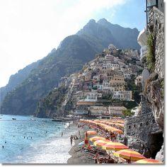 Positano, on the Amalfi coast of #Italy. Bellissimo!,