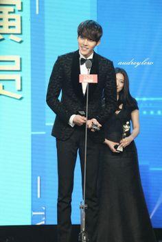 Kim Woo Bin at the 2013 Anhui TV Drama Awards in Beijing ♡ #Kdrama