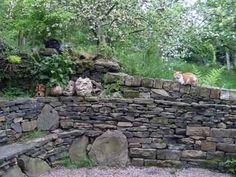 Richard Clegg Dry Stone Walling Specialists - West Yorkshire - water features london, landscape boulders and rockery, landscape boulders for. Landscaping With Boulders, Pinterest Garden, Garden Levels, Flagstone Patio, Dry Stone, Woodland Garden, Heart Wall, Garden Stones, Stone Work
