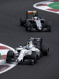 Felipe Massa, Williams FW38, Sergio Pérez, Sahara Force India F1 VJM09 2016/10/17 para 2016/10/30 Autodromo Hermanos Rodriguez