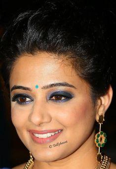 Tollywood Actress Priyamani Beautiful Earrings Oily Face Closeup Photos - Tolly Boost