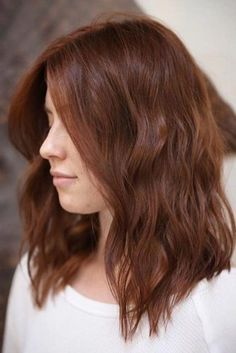 Auburn Hair Color Ideas And#8211; Light, Medium Andamp; Dark Auburn Hair Styles ★ See more: http://lovehairstyles.com/auburn-hair-color/