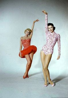 """Movie """"It's Always Fair Weather"""" with Cyd Charisse, Dolores Gray, photo by Loomis Dean, 1955"""