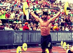 Goal to compete in the same arena in 2013 as Rich Froning.   Fittest Man on Earth x 2 | Froning
