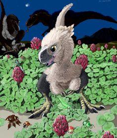 Clover Field Monster by Psithyrus on DeviantArt