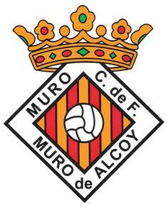 1930, Muro CF (Muro de Alcoy, Comunidad Valenciana, España) #MuroCF #MurodeAlcoy #Valencia (L19114) Football Team, Soccer, Regional, Badges, Hs Sports, Sports Clubs, Soccer Players, Bavaria, Futbol