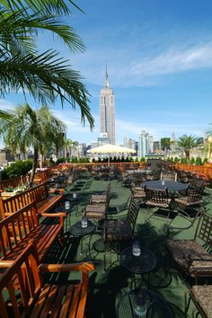12 NYC Rooftops That Take Drinking And Dining To New Heights (230 Fifth)