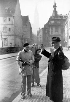 Henri Cartier-Bresson  FRANCE. World War II. Liberation. Alsace. 1944.