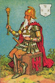 Knapp-Hall Tarot ► The Emperor