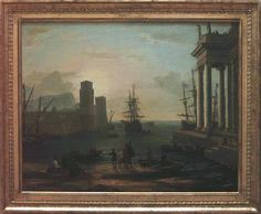 Claud Lorrain, Embarkation of Ulysses