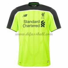 Neues Liverpool 2016-17 Fussball Trikot Kurzarm Dritte trikotsatz Shop