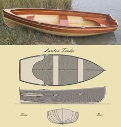 Custom Made 'The Lawton Tender' Row Boat Kit Make A Boat, Build Your Own Boat, Diy Boat, Plywood Boat Plans, Wooden Boat Plans, Wooden Boat Building, Boat Building Plans, Small Yachts, Boat Kits
