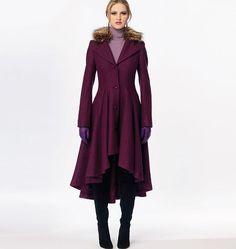 McCall's Pattern: M6800 Misses'|Miss Petite Lined Coats, Belt + Detachable Collar & Hood — jaycotts.co.uk - Sewing Supplies