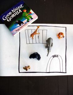 Story squares, from 5 ways to encourage creative storytelling + play