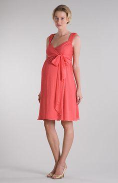 vestido para grávidas - gestantes - Straps Crinkle Chiffon Pink Short Maternity Post Pregant Bridesmaid Dress| OKmarket.com ------------------------------------------- http://www.vestidosonline.com.br/modelos-de-vestidos/vestidos-gestantes