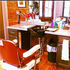 Home hair salon on pinterest salons hair salons and for Abc beauty salon