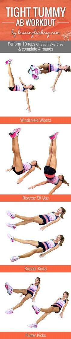 Tight Tummy Ab Workout!#Health&Fitness#Trusper#Tip