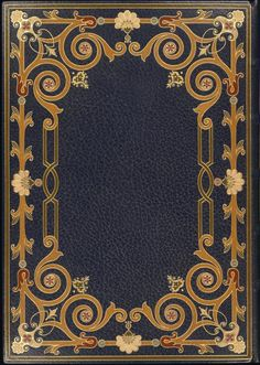Vintage Frame ~ French 19th Century Bindings collection NYPL Digital Gallery