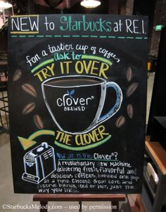 REI-Chalk-1 Clover sign Starbucks denver