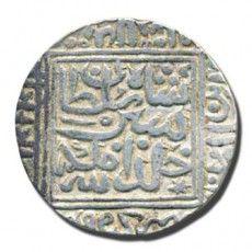 Dynasty: Delhi Sultan - Suri |  Ruler / Authority: Farid Al Din Sher Shah |  Denomination: Rupee |  Metal: Silver |  Shape: Round |  Types/Series: Standard |  Calendar System: AH (Anno Hijri) |  Issued Year: 948 |  Mint: Shergarh |  Theme: Arabic Legend, Devanagari |  Description:  Sher Shah Al Sultan Khald Allah Malkahu in Double Squares. Faird Al Dunya Wa'l Din in margins Mint Name below Kings name Sri Ser Sah in Nagari |